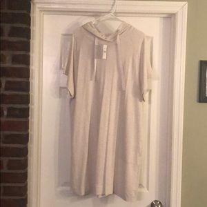 Loft Outlet Hooded Tee Dress